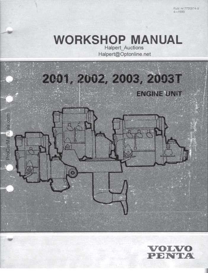 volvo penta service manuals free