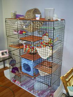Rapid mesh pet enclosure instructions