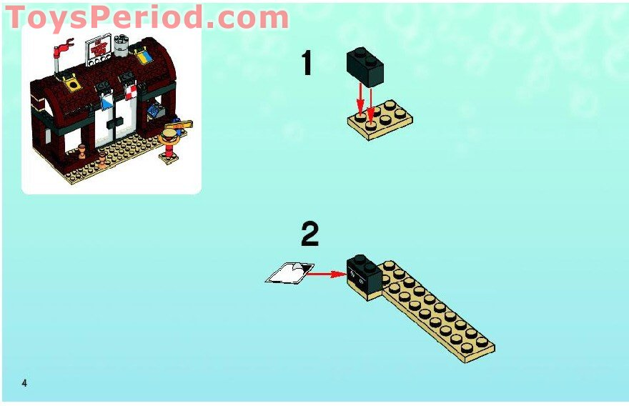 lego krusty krab instructions