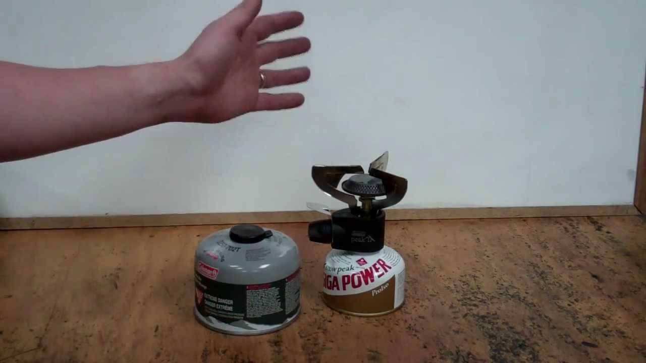 Coleman peak 1 stove manual