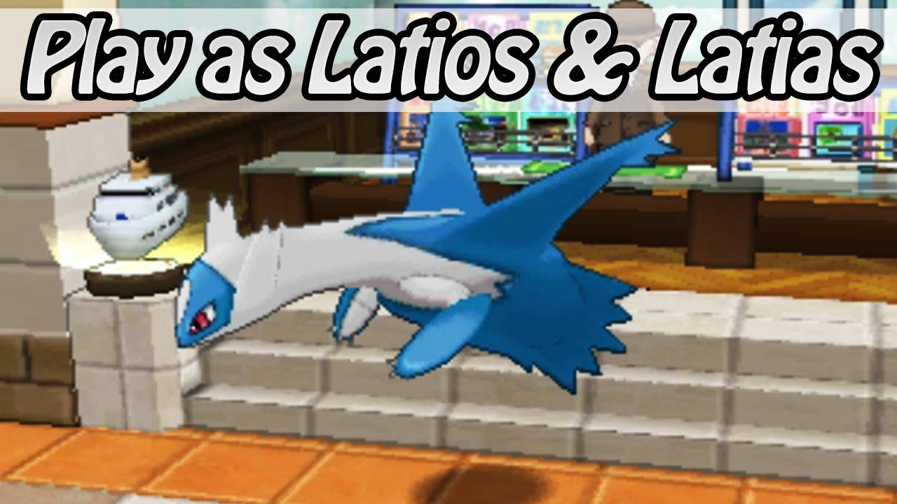 Pokemon sapphire how to get latios