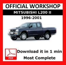 mitsubishi l200 service manual free download