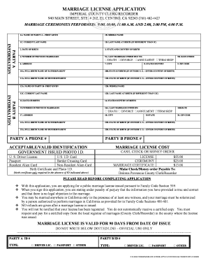 Cook county il marriage license application form