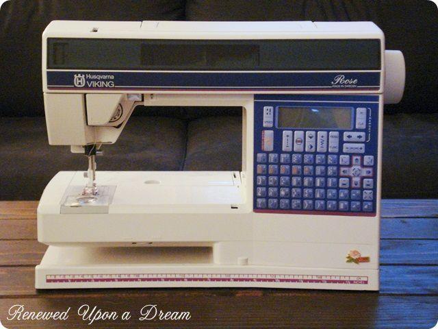 husqvarna viking rose sewing machine manual