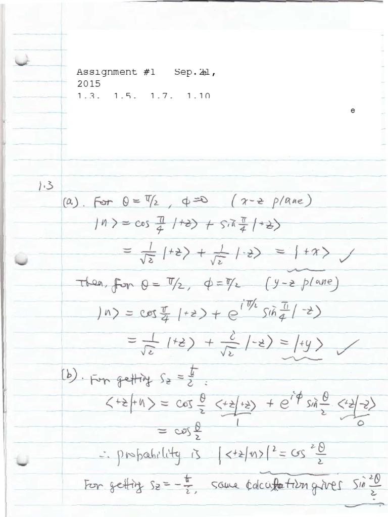 Quantum physics john s townsend pdf