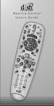dish tv remote control manual