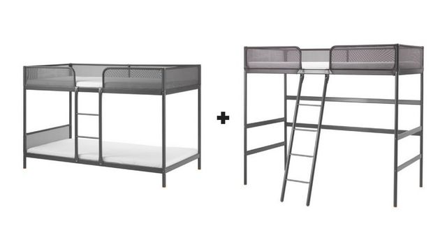 ikea loft bed with slide instructions