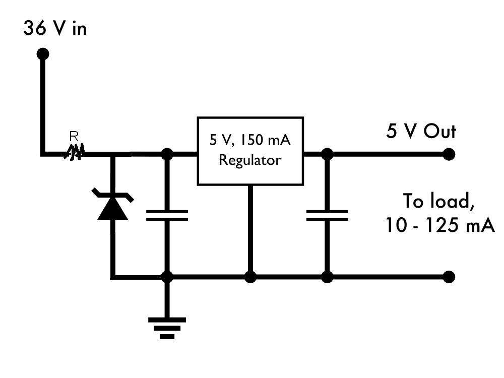 Voltage regulator circuit using zener diode pdf