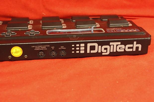 digitech control one foot controller manual
