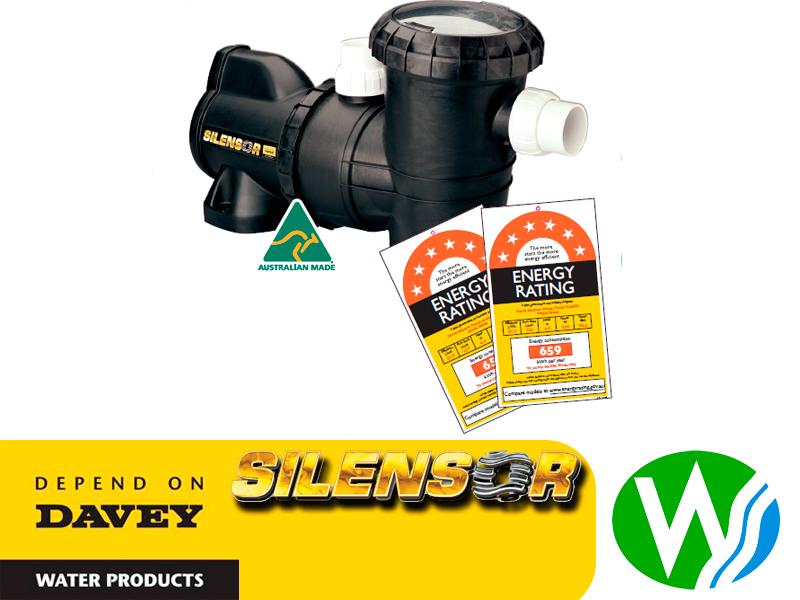 davey silensor pool pump repair manual