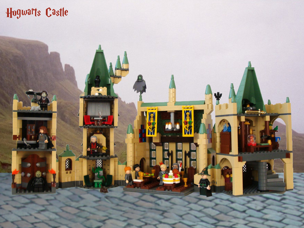 lego harry potter hogwarts castle 4842 instructions