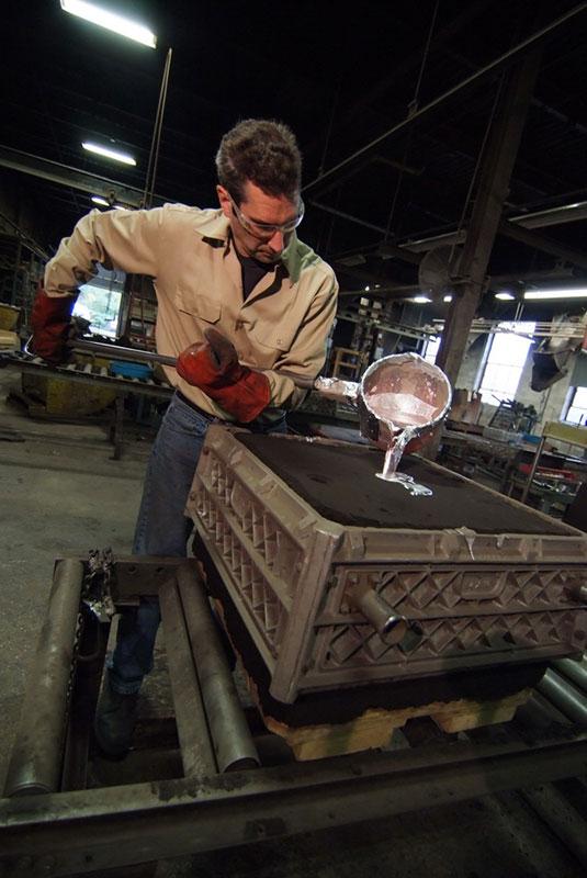 No bake sand casting process pdf