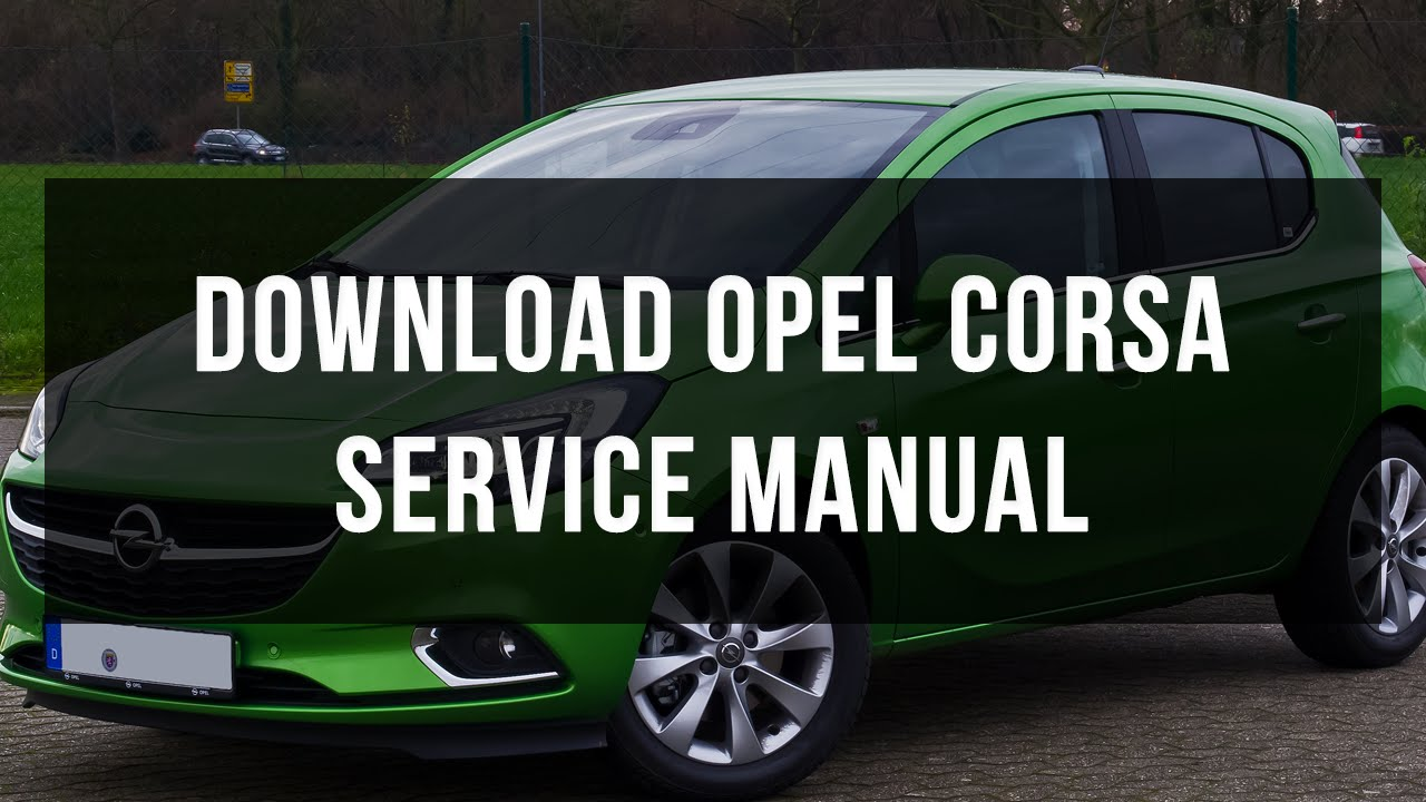 vauxhall corsa haynes manual free download