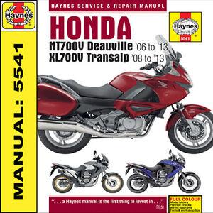 honda nt 650 deauville manual download