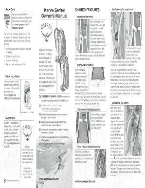www ospreypacks com owners manual