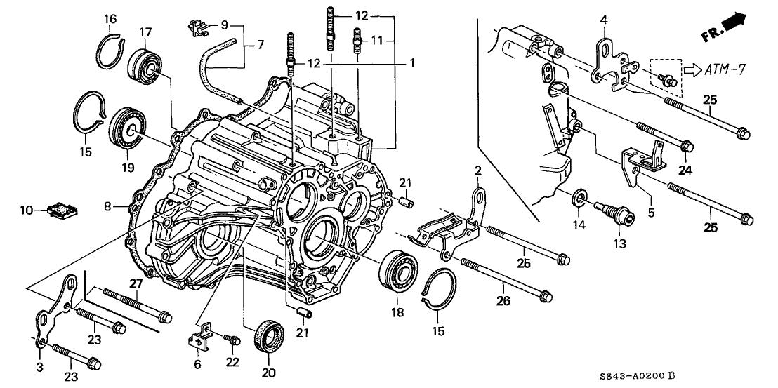 honda accord 2010 v6 manual transmission part