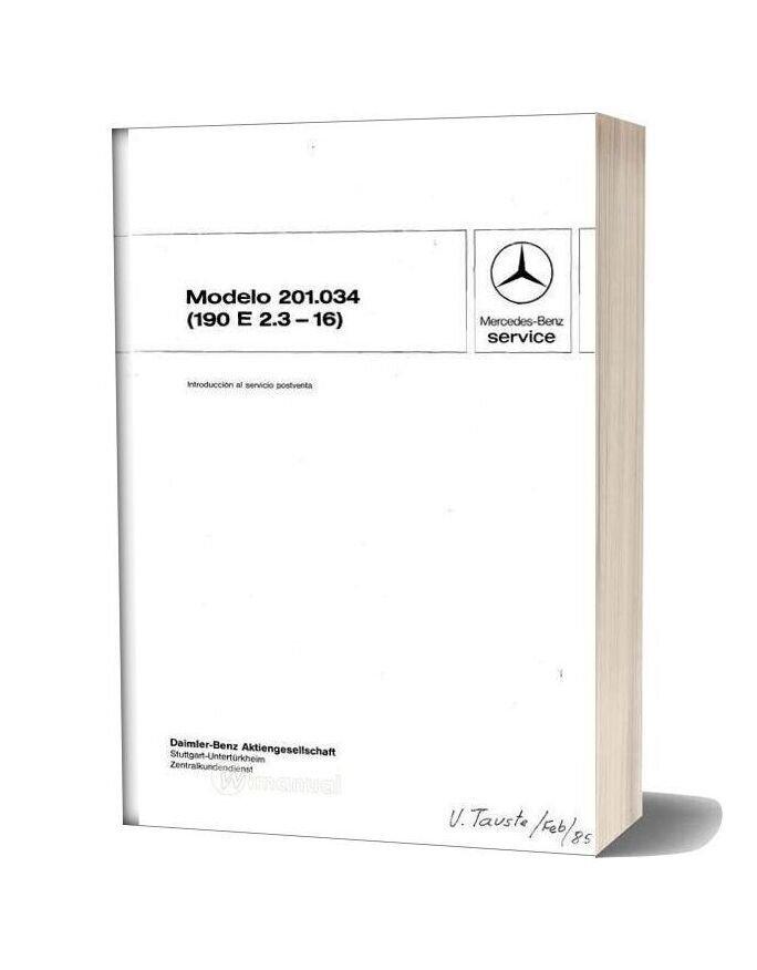 mercedes 190e user manual download