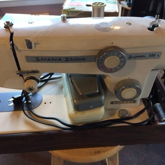 omega deluxe denim sewing machine manual