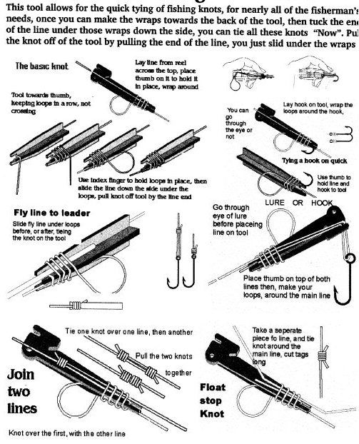 tie fast tool instructions