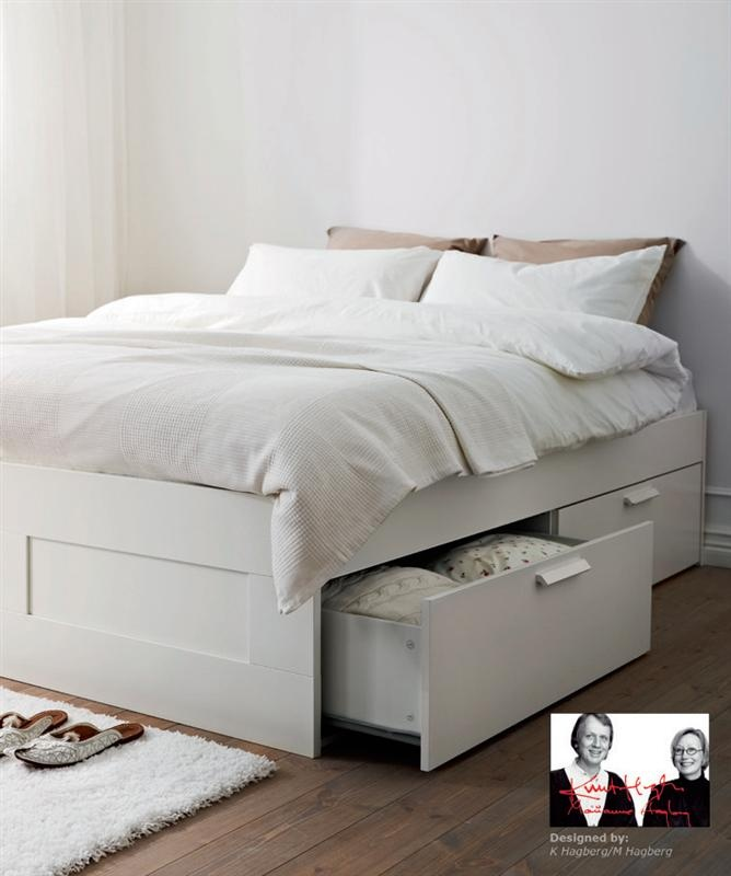 ikea brimnes bed without storage instructions