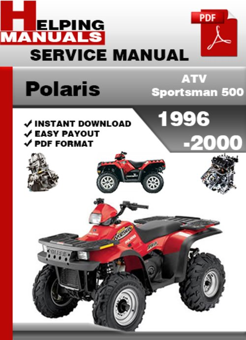 2000 polaris sportsman 500 manual
