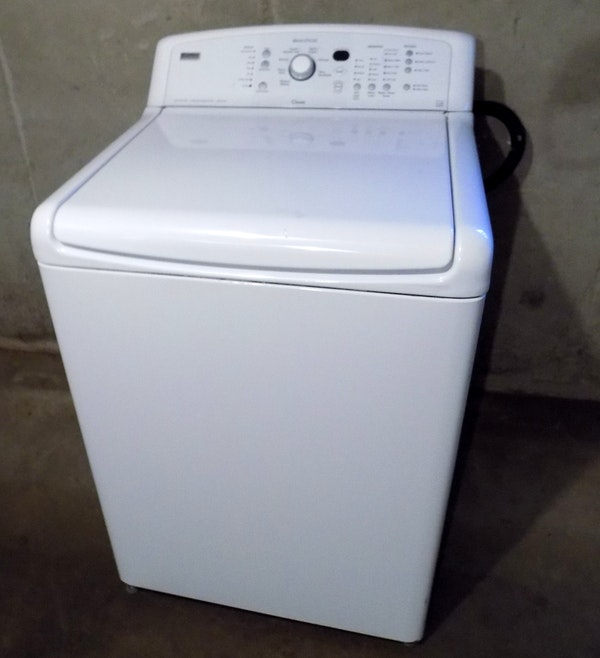 Kenmore elite oasis washer manual