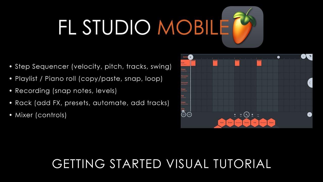 Fl studio mobile 3 guide