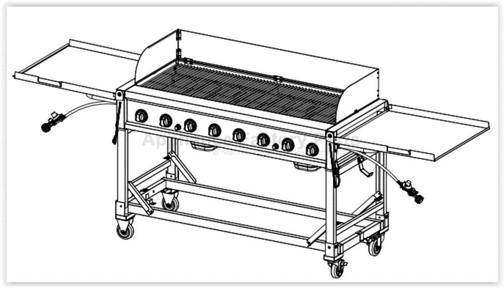 members mark 8 burner event grill manual