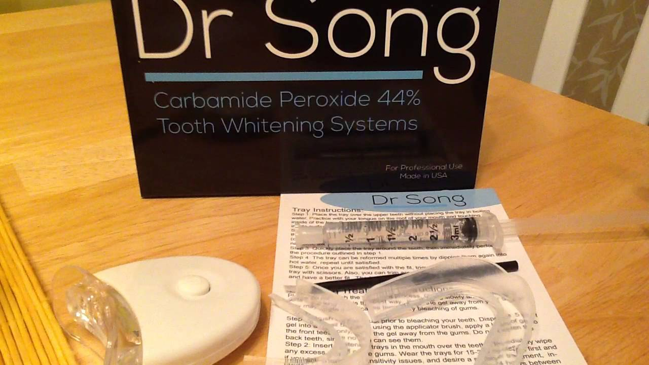 Dr song teeth whitening instructions