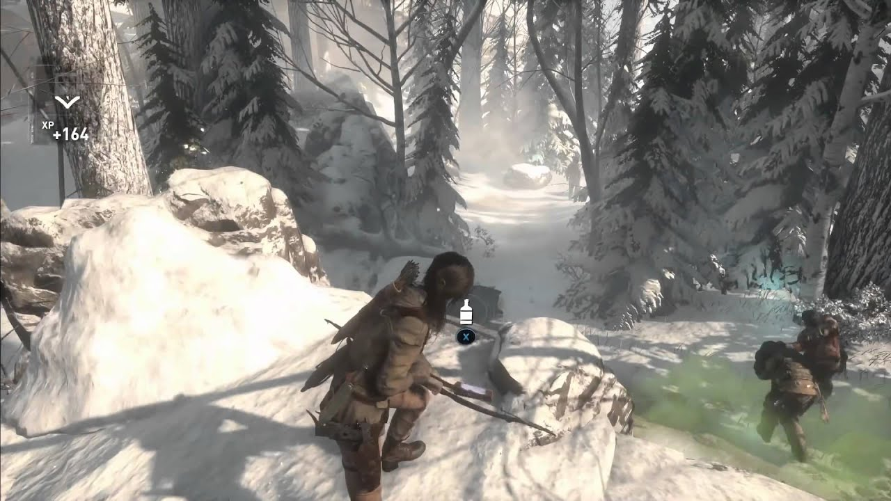 Rise of the tomb raider how to make explosive arrows