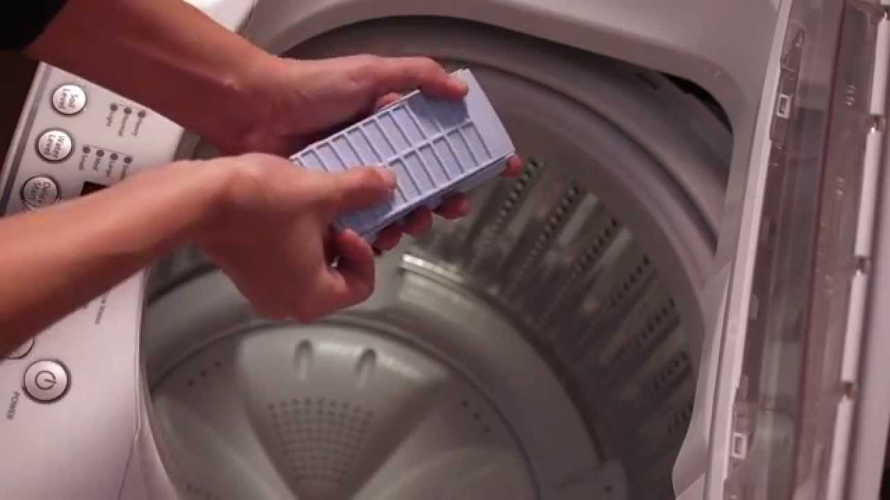 manual filter top loading washing machine