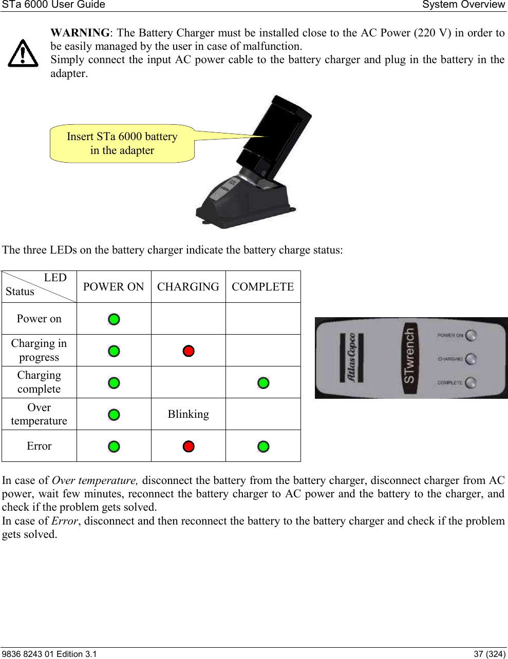 atlas copco power focus 6000 user manual