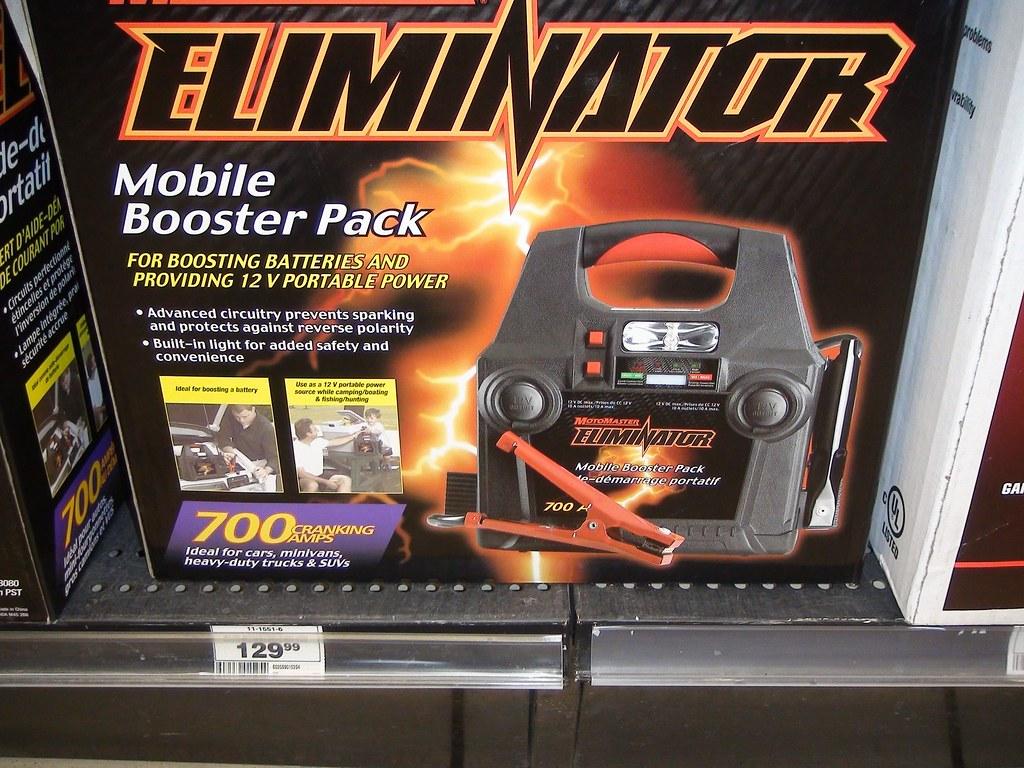 eliminator mobile booster pack manual