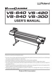 Roland camm 1 pro manual