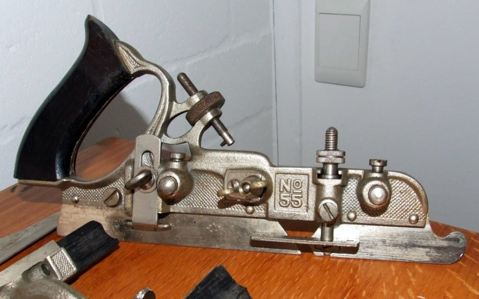 stanley no 55 combination plane instructions