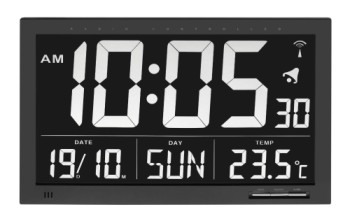 accu time digital clock instructions