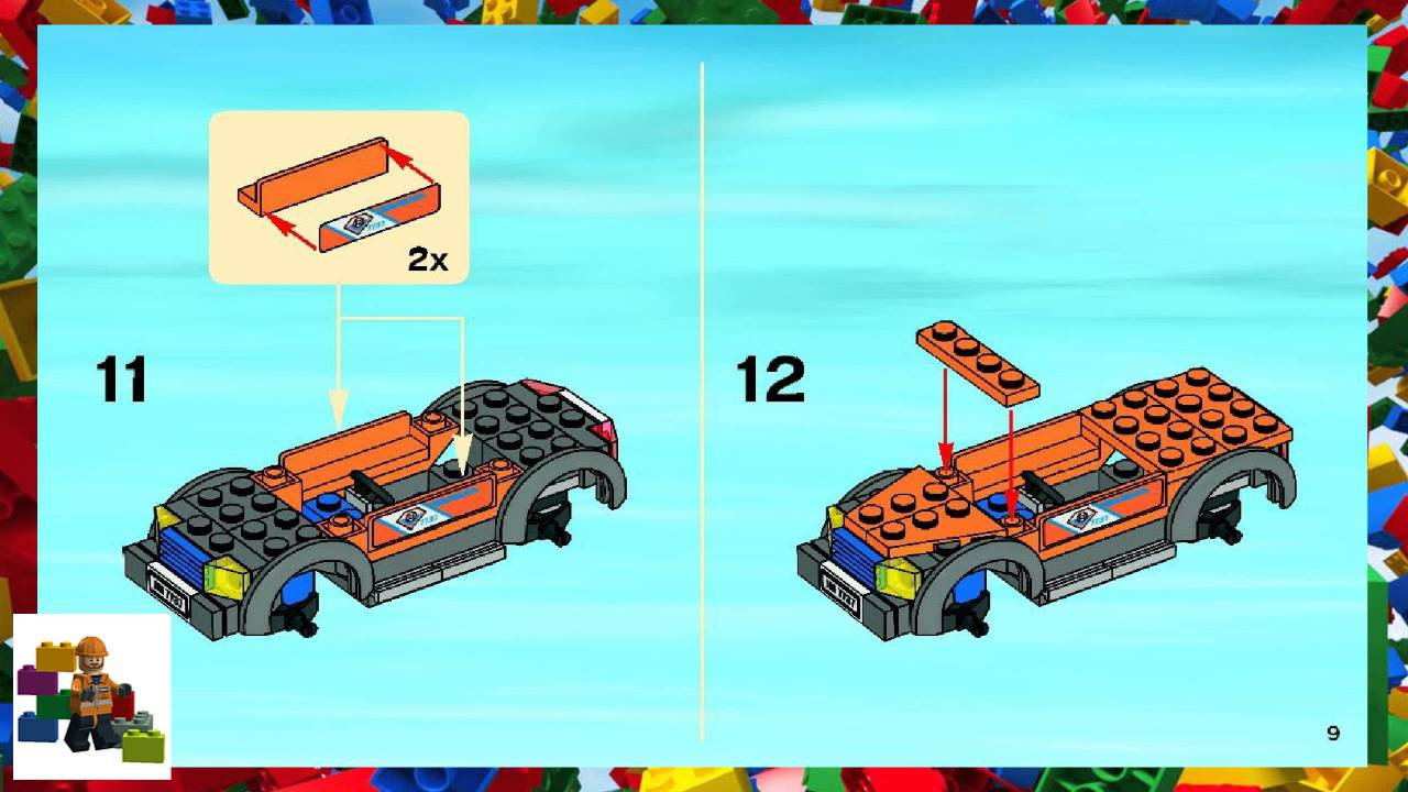 Lego coast guard jet ski instructions