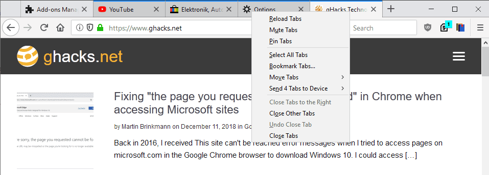 Firefox opens multiple tabs when clicking pdf