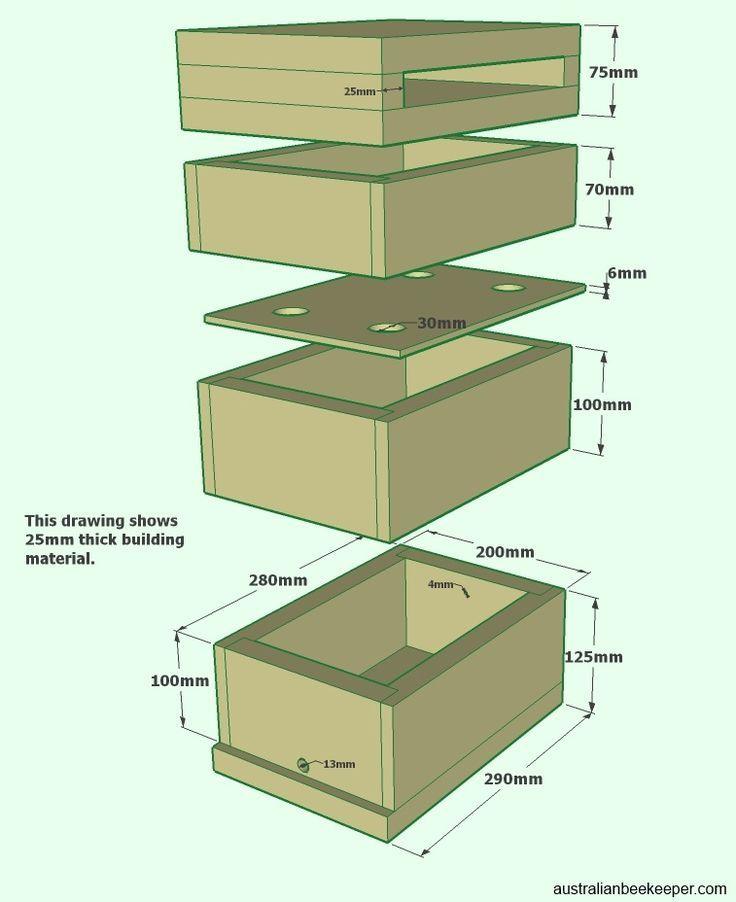Australian native stingless beehive plans pdf