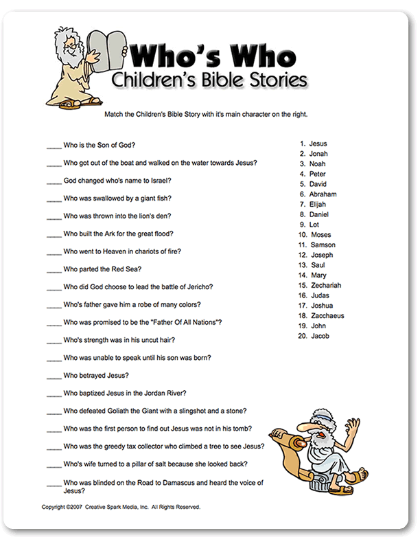 Bible games for youth pdf