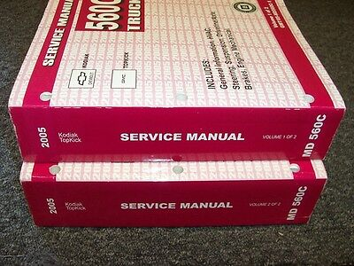 2005 gmc c7500 owners manual