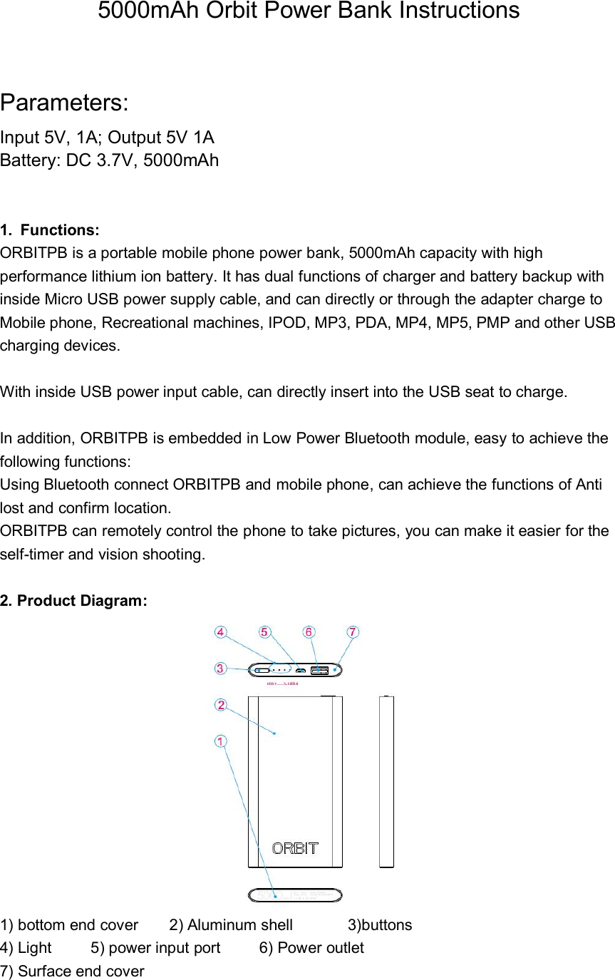 h2 power bank camera manual