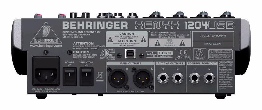 behringer xenyx ufx1604 full manual