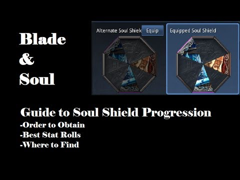 Blade and soul how to get legendary soul shield