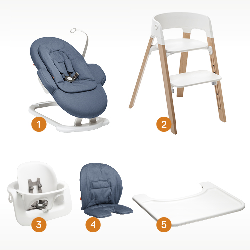 stokke high chair assembly instructions