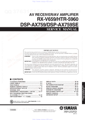yamaha htr 5940 service manual