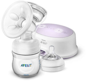 avent single electric pump manual
