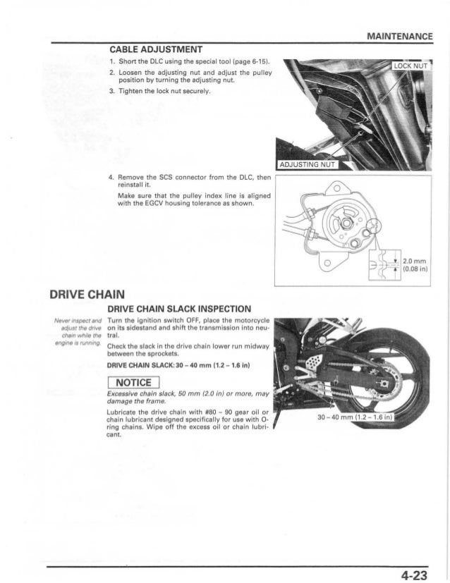 2006 honda cbr600rr owners manual