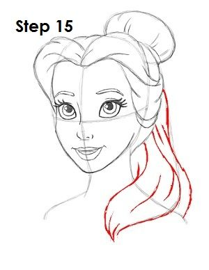 Learn how to draw disney princesses step by step