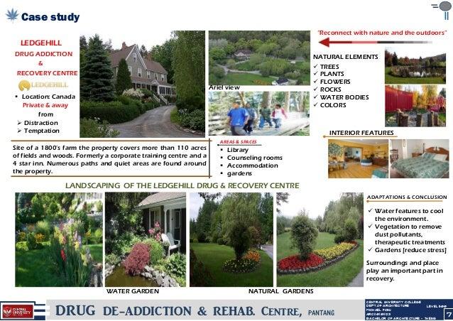 Drug rehabilitation center architecture thesis pdf